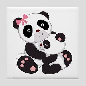 Panda Cartoon Coasters Cafepress