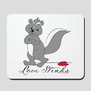 Love Stinks Mousepad