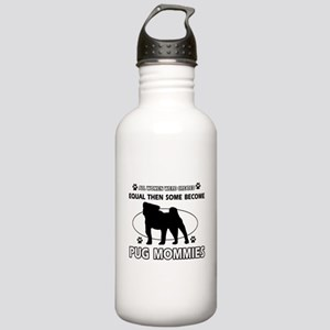 Become Poodle mommy Stainless Water Bottle 1.0L