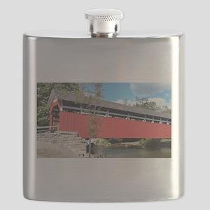 Covered Bridge PA Flask