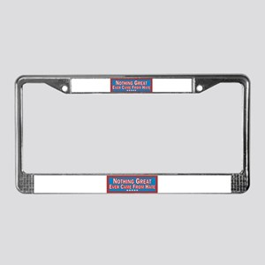 Stop Hate License Plate Frame