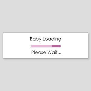Baby Loading Please Wait Status Bar Sticker (Bumpe