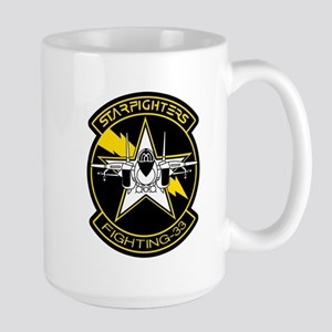 VF-33 Starfighters Large Mug