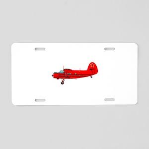 Antonov An-2 Aluminum License Plate