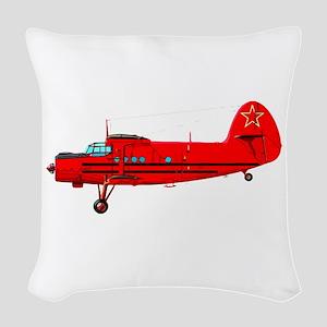Antonov An-2 Woven Throw Pillow