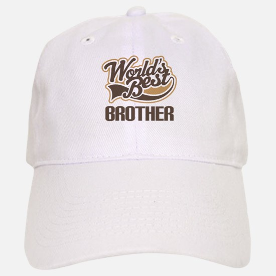 Worlds Best Brother Baseball Baseball Cap