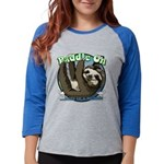 Paddle On...here in a minute Sloth Long Sleeve T-S