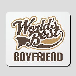 Worlds Best Boyfriend Mousepad