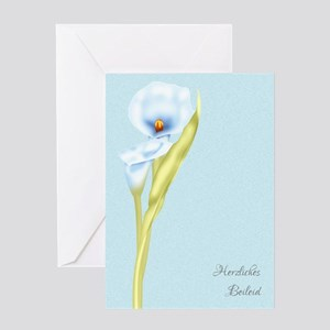 Herzliches Beileid German Greeting Card