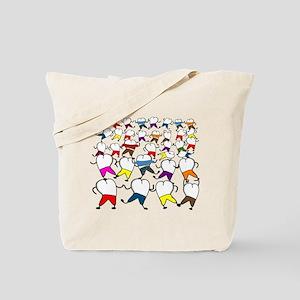Teeth Art Tote Bag