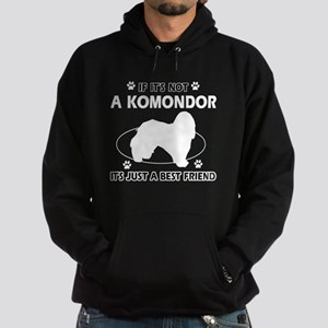 My Komondor is more than a best friend Hoodie (dar