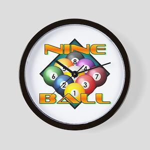Nine Ball Wall Clock