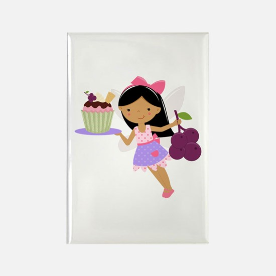 Cupcake Fairy Rectangle Magnet
