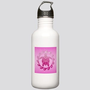 Maori Pink Honu Water Bottle