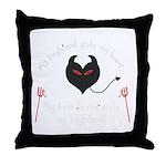 'Stolen Boyfriend' Throw Pillow