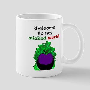 Welcome to my world 11 oz Ceramic Mug