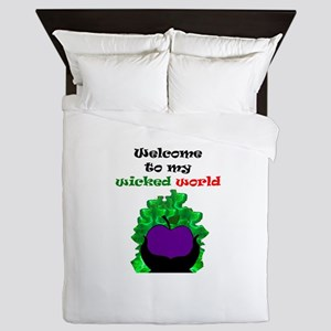 Welcome to my world Queen Duvet