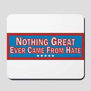Stop Hate Mousepad