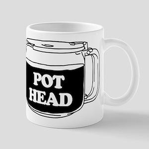 Pot Head 11 oz Ceramic Mug