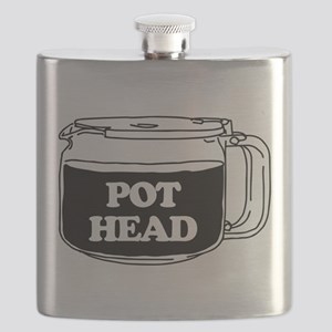 Pot Head Flask