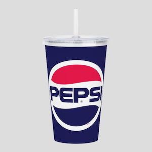 Pepsi 90s Logo Acrylic Double-Wall Tumbler