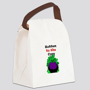 Rotten to the Core Canvas Lunch Bag