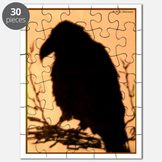 Raven, crow, bird art! Puzzle