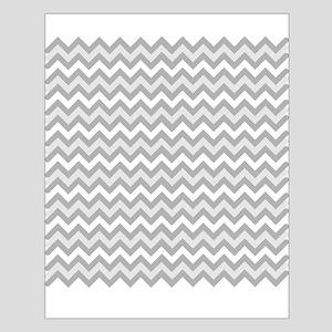 Grey Chevron Poster Design