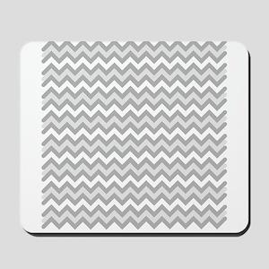Grey Chevron Mousepad