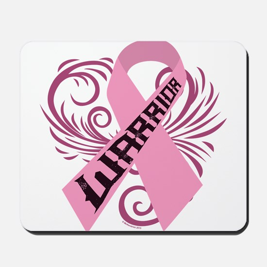 Breast Cancer Warrior Mousepad