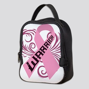 Breast Cancer Warrior Neoprene Lunch Bag