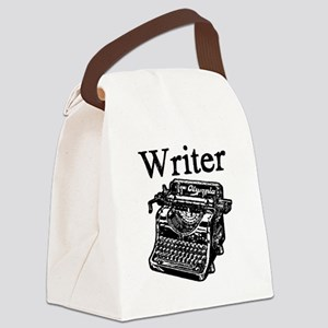 Writer-typewriter-1 Canvas Lunch Bag