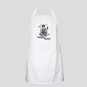 The Naughty Knitter BBQ Apron