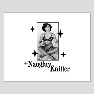 The Naughty Knitter Small Poster