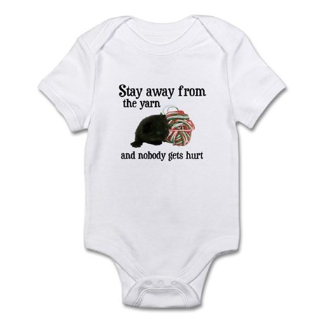 Stay Away From The Yarn Infant Bodysuit