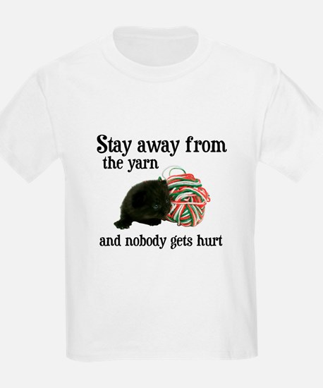 Stay Away From The Yarn Kids T-Shirt