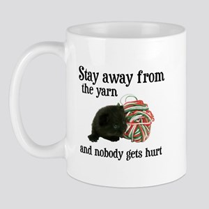 Stay Away From The Yarn Mug