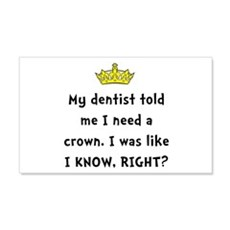 Dentist Crown Wall Decal