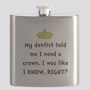 Dentist Crown Flask