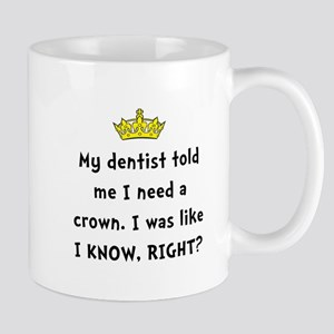 Dentist Crown Mugs