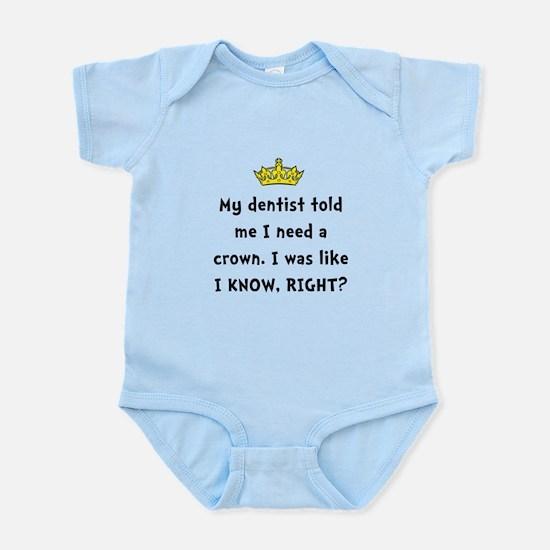 Dentist Crown Body Suit