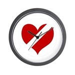 'Heartless Valentine' Wall Clock