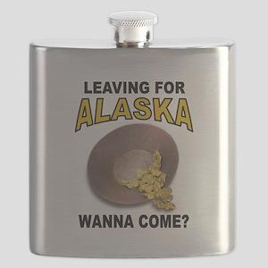 ALASKA GOLD Flask
