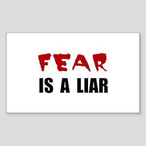 Fear Liar Sticker