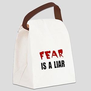 Fear Liar Canvas Lunch Bag