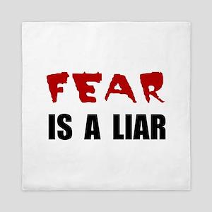 Fear Liar Queen Duvet