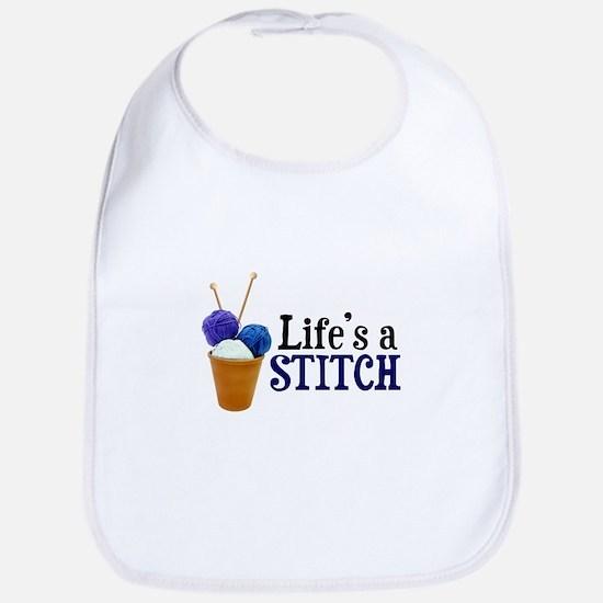 Knitting - Life's a Stitch Bib