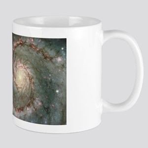 M51 the Whirlpool Galaxy Large Mugs