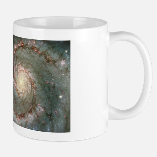 M51 the Whirlpool Galaxy Large Mugs