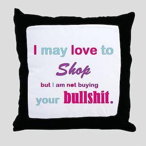 BS Throw Pillow
